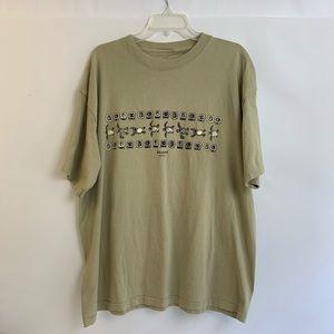 Akumal Sea Turtle T-Shirt Size XXL